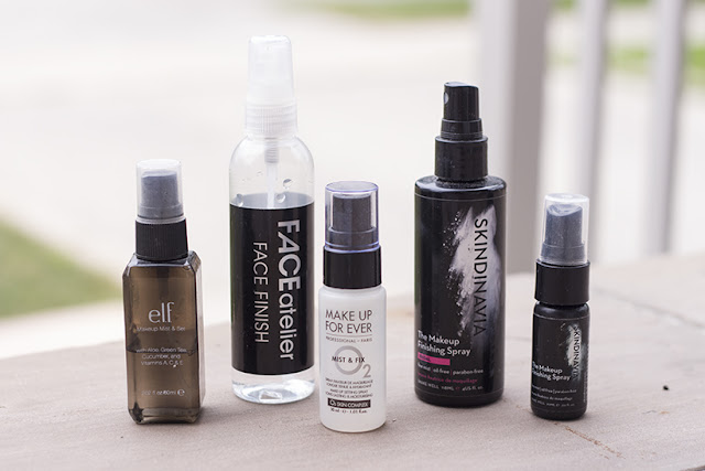 E.L.F, Face Atelier Face Finish, Make Up For Ever Mist & Fix, Skindinavia Setting Spray Finishing Spray