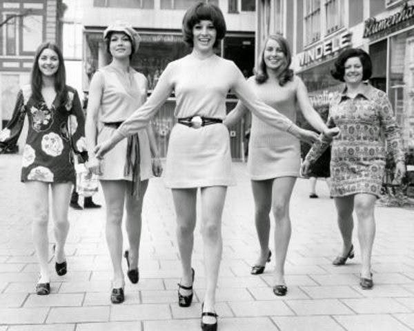 As minissaias dos anos 60