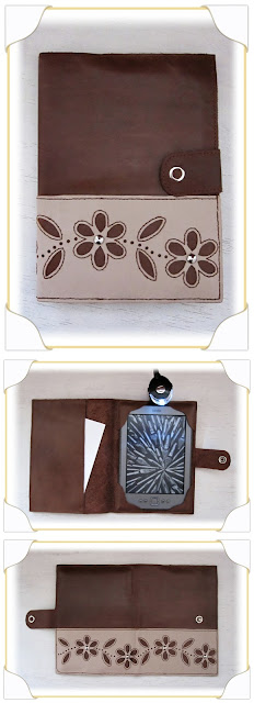 funda ebook kindle hechas en cuero y piel a mano, día del libro
