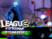 League of Stickman Zombie MOD Unlimited money v1.2.0 Full Unlocked Apk Terbaru