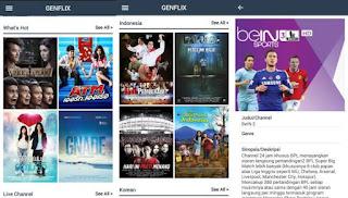 Aplikasi nonton film bioskop genflix 2.0