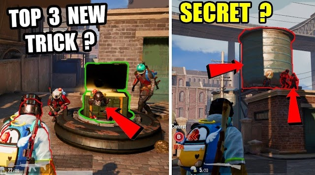 Pubg Mobile Top 3 New Secret Tricks In Domination Mode ? Only 0.1% People Know About This Trick ?