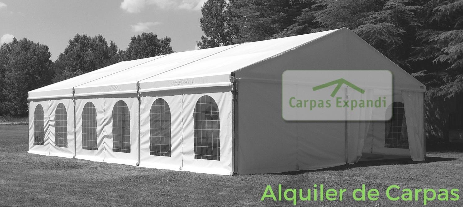 empresa carpas Pamplona