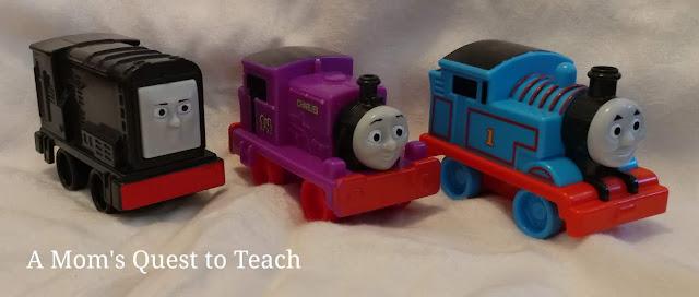Thomas the Tank train car toys