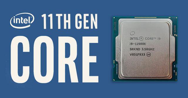 Đánh giá nhanh CPU Intel Core i9-11900K