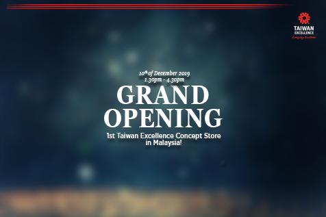Kedai Konsep Taiwan Excellence Dibuka Di MesaMall