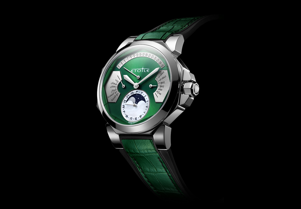 Novel complication with Islamic-Gregorian dual dial and moon face launched