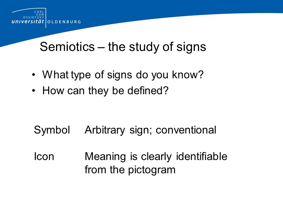 The Efl The Linguistic Sign