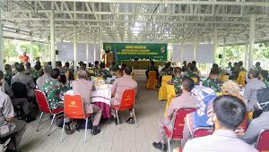 Kasdam III/Siliwangi Pimpin Rapat Anggota Dalam Rangka Pemilihan Ketua Umum Pusat Koperasi (Puskop) Kartika Siliwangi Periode 2020 - 2022