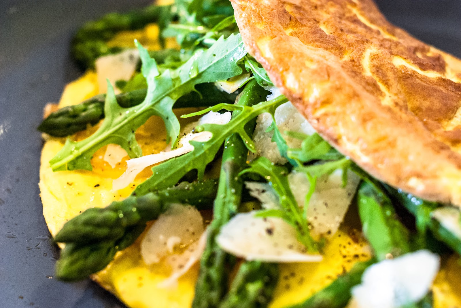 Asparagus Omelette with Sauté Chicken: Thermomix Paleo Recipe