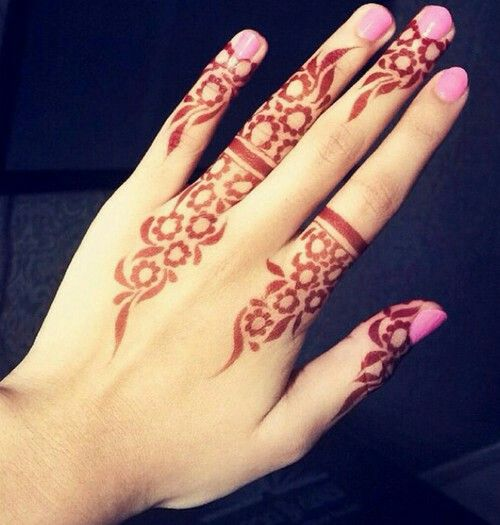Mehndi Designs In Fingers : Gorgeous mehndi designs for your fingers bling sparkle