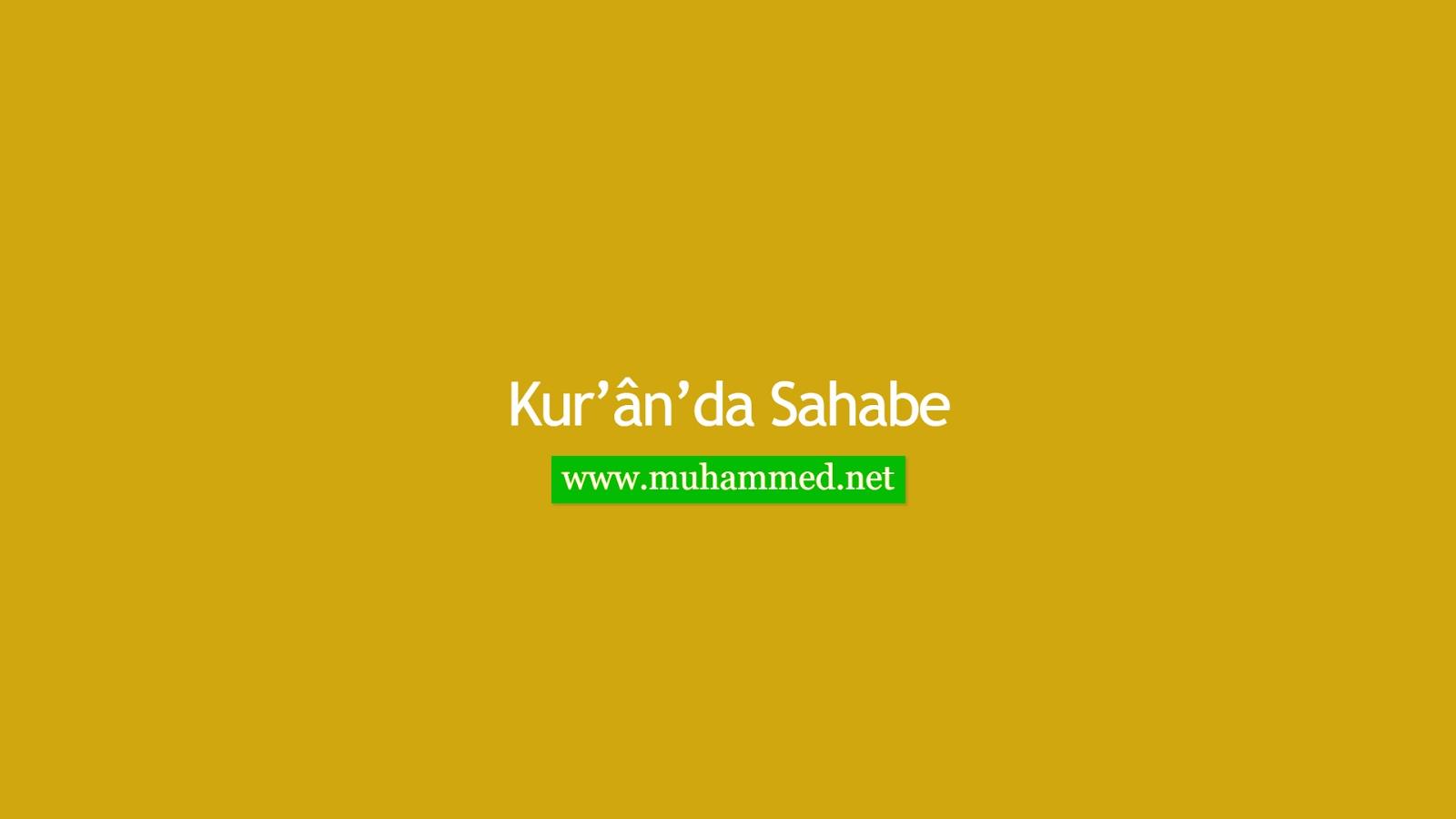 Kur'ân'da Sahabe