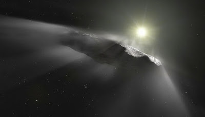 Bumi Ditabrak Pengunjung Antarbintang Tahun 2014, Benarkah?
