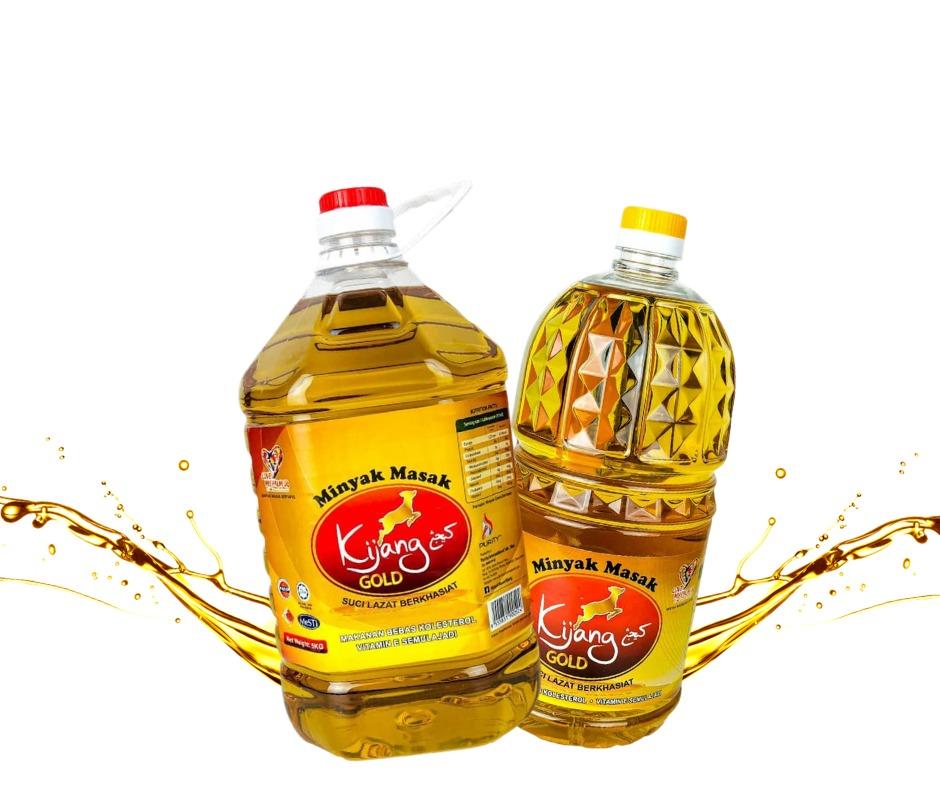 Minyak masak Kijang Gold, bmf, palm oil, oil, cooking, food, foodporn, minyak sawit, vitamine, healthy, healthy food, kelantan, malaysia, eats, halal, muslim, viral, foodie, foodstagram,