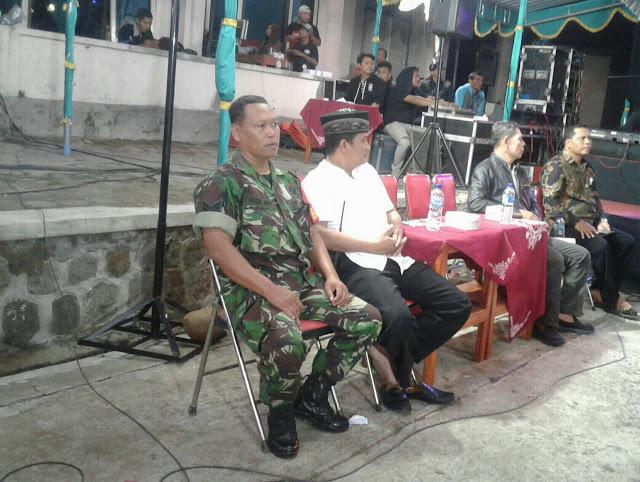 Kodim Karanganyar - Babinsa Gedong Hadiri Tasyakuran Warga Baru PSHT Pusat Madiun