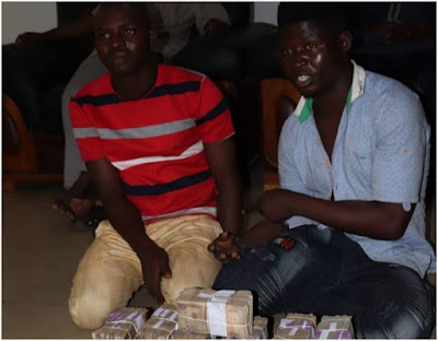 Niger police parades four suspects over alleged robbery