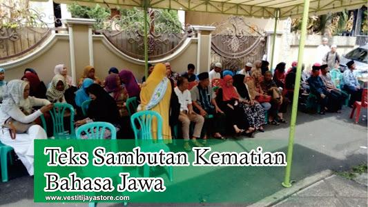 Teks Sambutan Kematian Bahasa Jawa
