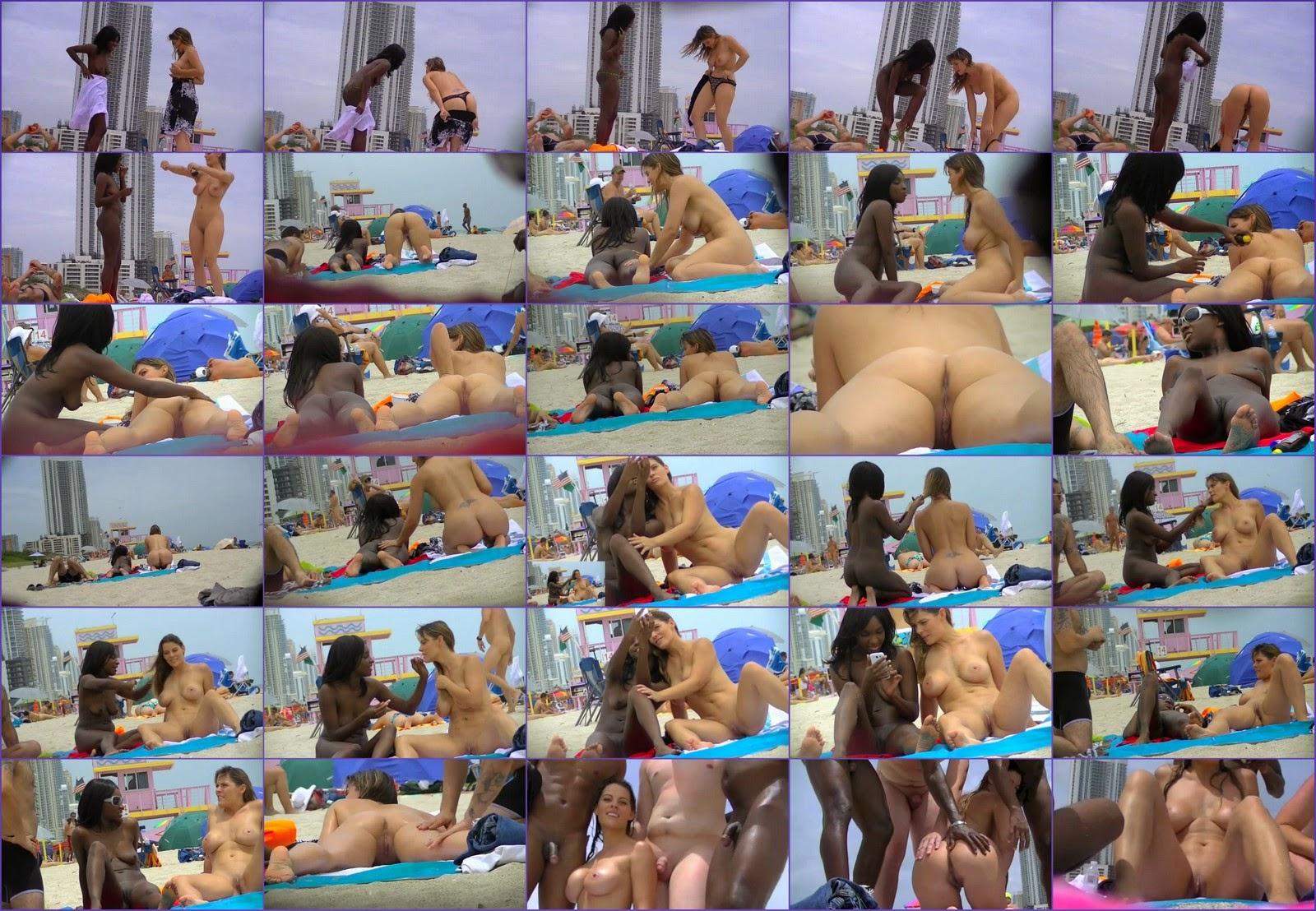 Подружки на голом пляже 1 / Girlfriends on the nude beach. Part-1.