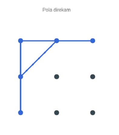 Gambar Tata Letak Pola HP Keren Simple
