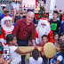 Papai Noel abre a casa mais iluminada de Ji-Paraná