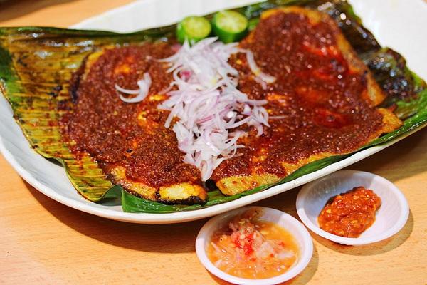 Cá đuối nướng Sambal
