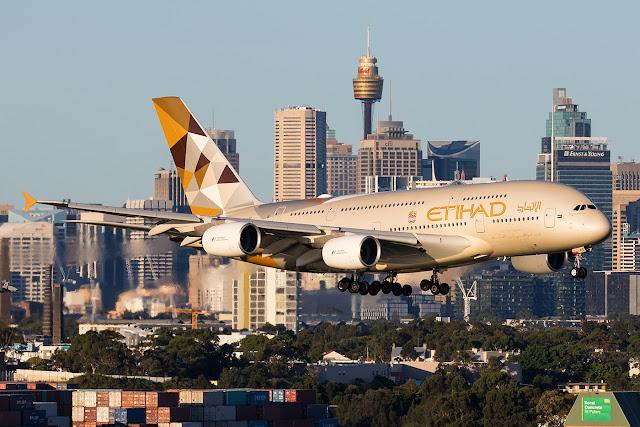 Etihad Airways wins top Airbus A380 accolade