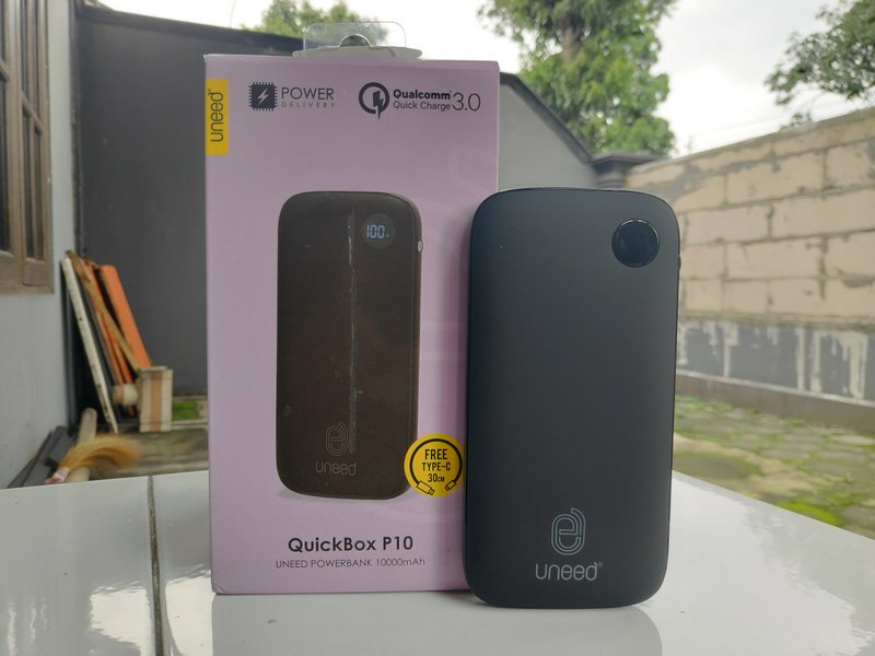 Review Uneed QuickBox P10 10000mAh