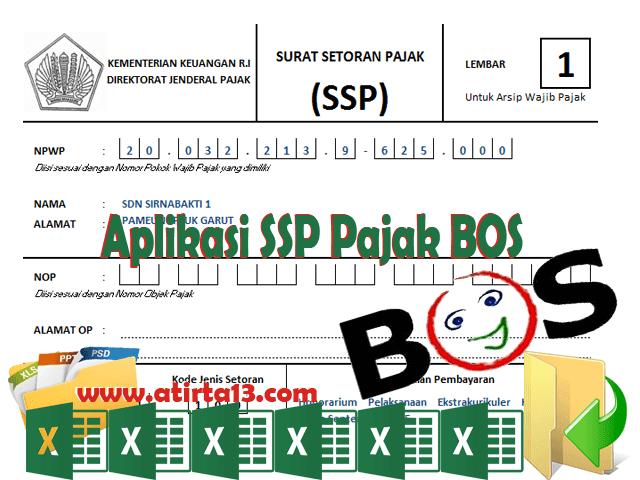 Download Aplikasi SSP Pajak BOS Otomatis Format Excel