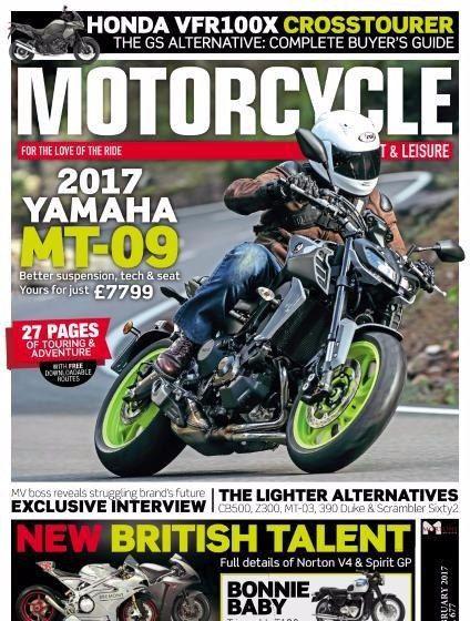 Motorcycle Sport & Leisure Magazine February 2017