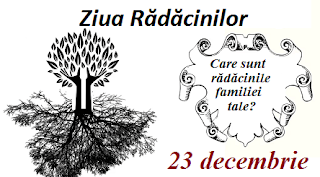 23 decembrie: Ziua Rădăcinilor Familiale