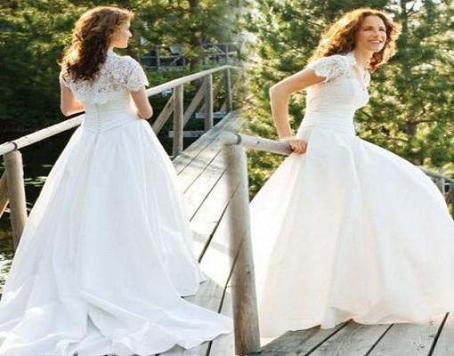 Be Alert: Wedding Dresses With Cap Sleeves Short Sleeves