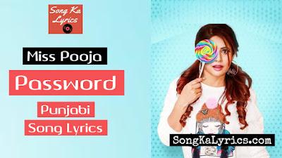password-lyrics
