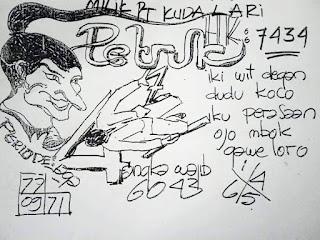 Syair HK Petruk Kuda Lari