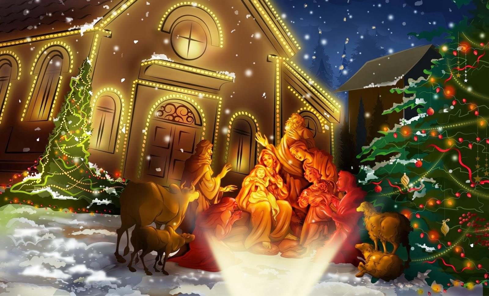 Fondos De Pantalla Navidenos Gratis: Imágenes De Navidad Cristianas