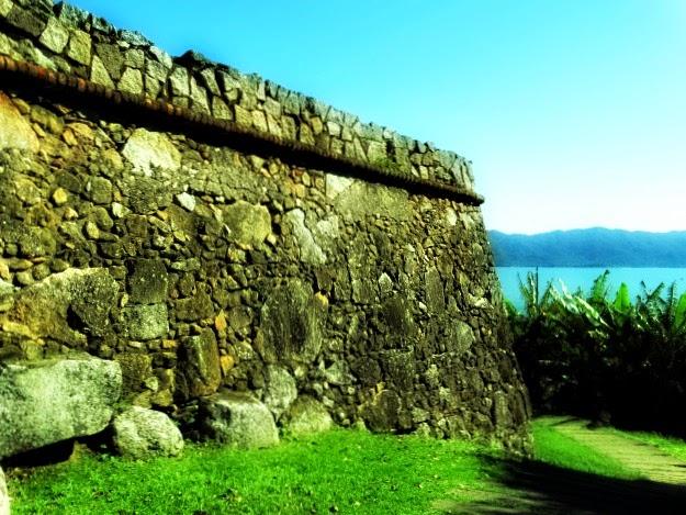 Muro da Fortaleza São José da Ponta Grossa, Florianópolis