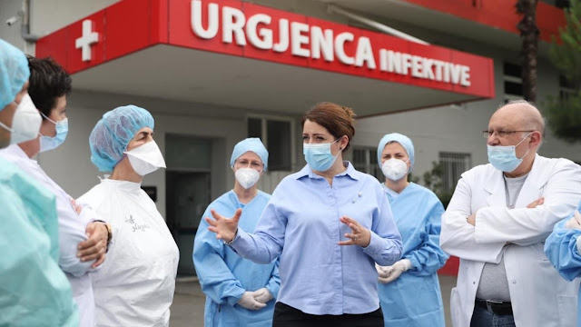 Urgency of infectious diseases in Tirana