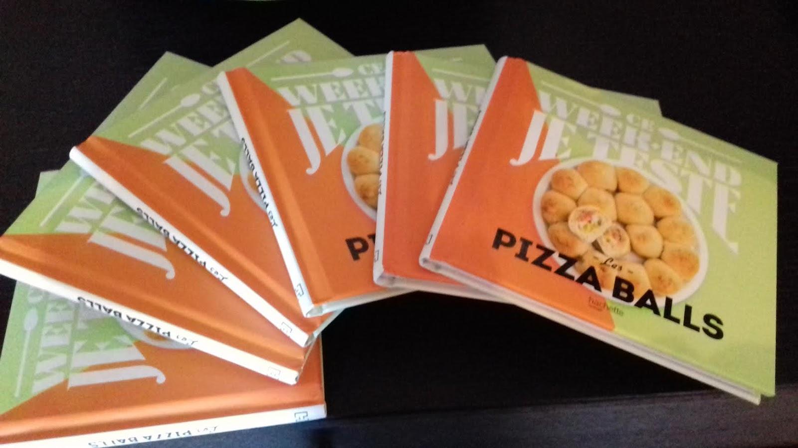 actu mon nouveau livre pizza balls blogs de cuisine. Black Bedroom Furniture Sets. Home Design Ideas