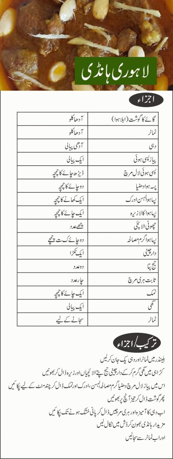Lahori Beef Handi Recipe in Urdu, Lahori Handi Recipe Urdu, Beef Recipes In Urdu, Eid Al-Azha Recipes in Urdu, Pakistani Recipes, Recipes In Urdu, Mutton Recipes in Urdu, Urdu Recipes, Pakistani Recipes In Urdu, Pakistani Urdu Recipes,