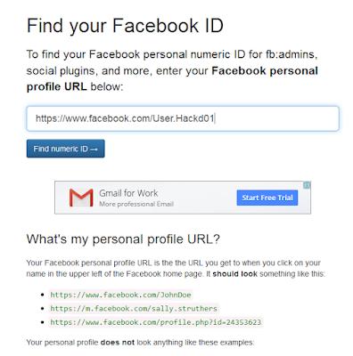 Cara Mendapatkan ID Facebook Terbaru 2016