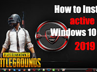 How to Install and active Windows 10 ROG EDITION 2019