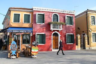 Venice Italy, Island, boat ride to island