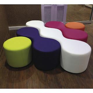 Modüler Bekleme Koltuğu, Renkli Ofis Tasarımları