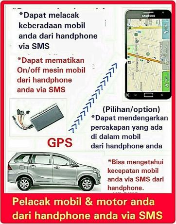 gps tracker super mobil motor truck bus alat berat phone 08157778537