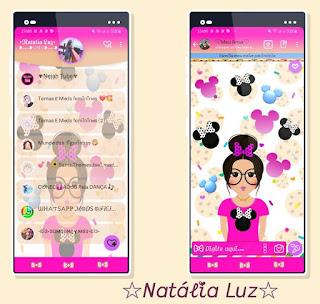 Minnie Girls Theme For YOWhatsApp & Fouad WhatsApp By Natalia Luz