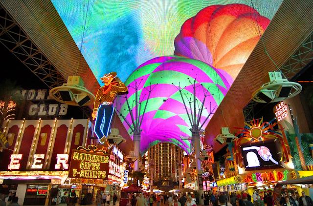 Passeio pelo Centro de Las Vegas