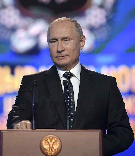 Putin ensina aos oficiais da inteligência russa, GRU, que o campo de batalha é global e incessante