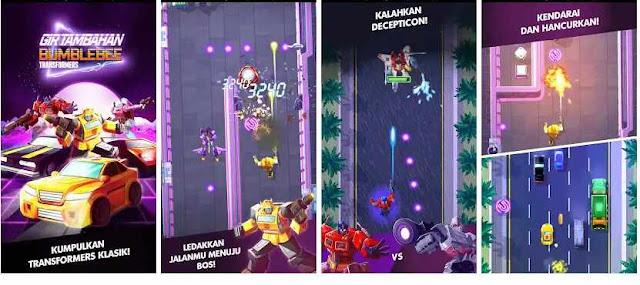 Game Bumble bee Transformers Gir Tambahan