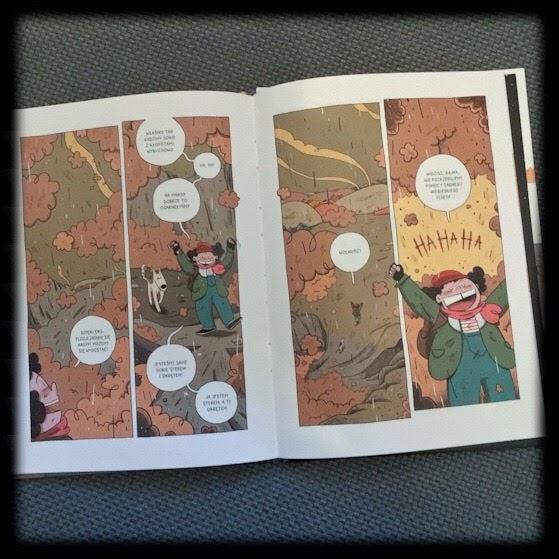 Bajka na końcu świata, T.1 Ostatni ogród, T.2 Opuszczony dom, T.3 Ożywczy deszcz, T.4 Opowieść gołębia, Marcin Podolec, Kultura Gniewu, komiks postapo dla najmłodszych