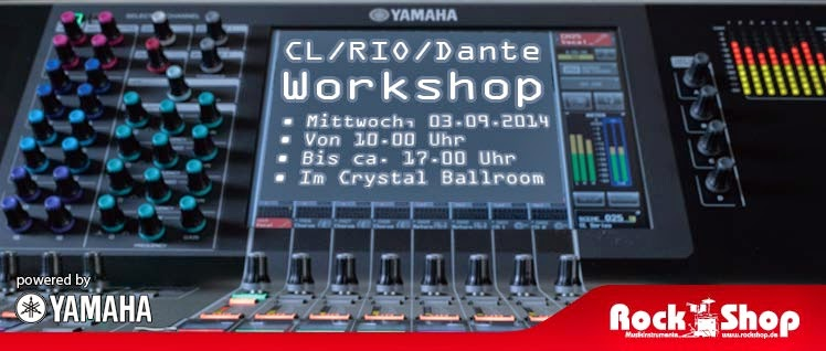 Rock Shop Musikinstrumente Karlsruhe Yamaha PA Workshop Crystal Ballroom