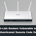 Vulnerability on a series of D-Link routers allows remote code execution but will not be fixed !!!!